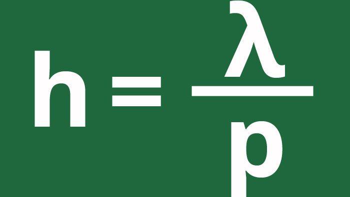 Quantum mechanics equation