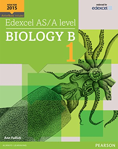 The Pearsons AS/A Level Biology B Book 1