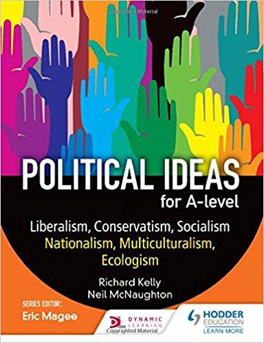 Political ideas for A Level: Liberalism, Conservatism, Socialism, Nationalism, Multiculturalism, Ecologism