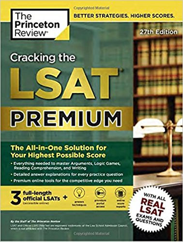 Cracking the LSAT Premium with 3 Real Practice Tests, 27th Edition