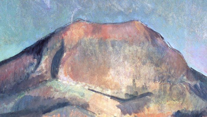 modern art painting detail