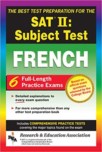 SAT French Subject Test, The Best Test Prep
